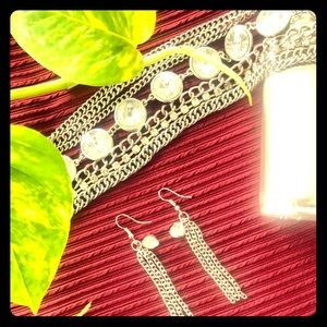 Silver Happiness Earrings